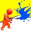 Paintball fight