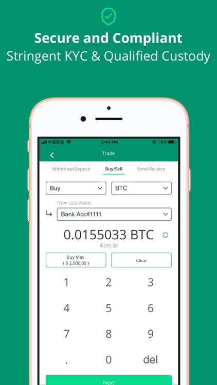 BitLeague - Bitcoin Banking screenshot-3