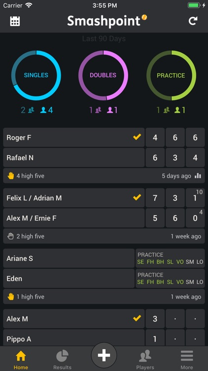 Smashpoint Tennis Tracker screenshot-1