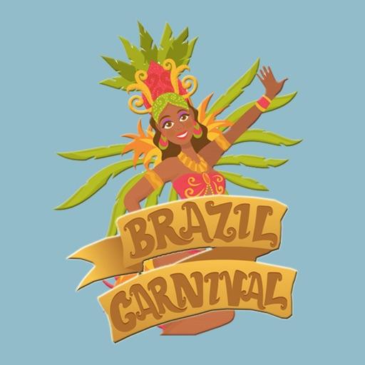 Brazil Rio De Janeiro Stickers
