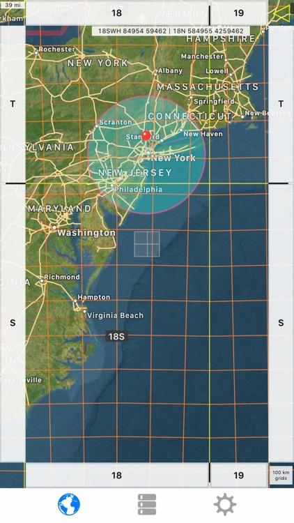 Radius on Map Full Version screenshot-4