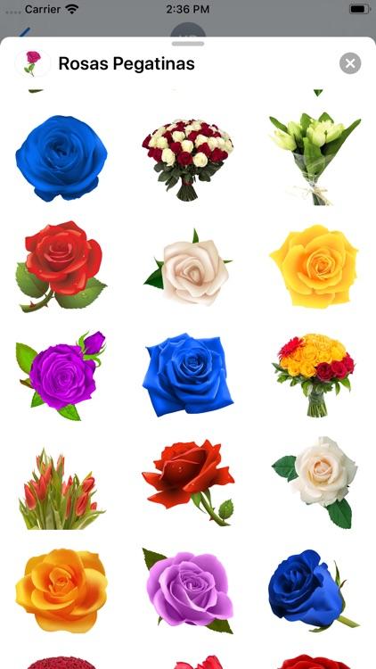 Rosas Pegatinas