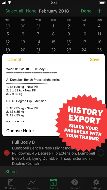 HeavySet - Gym Log screenshot-9