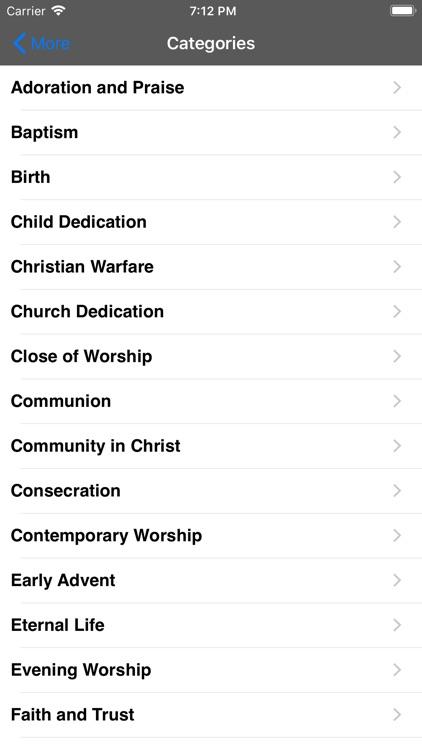The Advent Hymnal screenshot-8