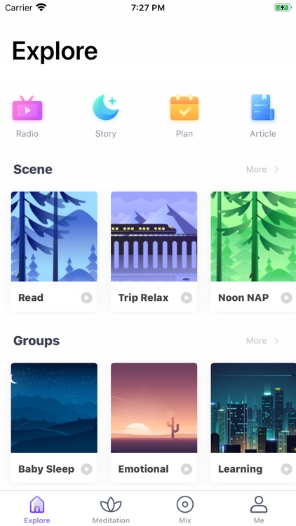 RelaxMe: Sleep Sounds Stories
