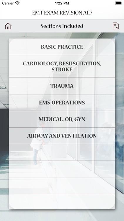 EMT Exam Revision Aid screenshot-8