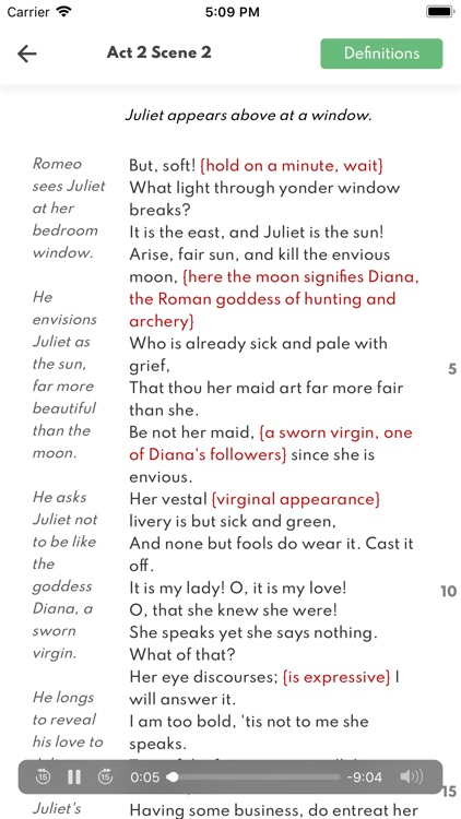Romeo and Juliet Full Audio