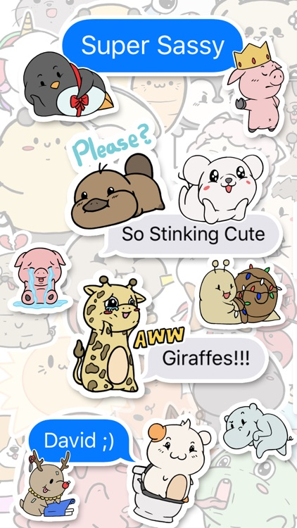 Aminal Stickers screenshot-3
