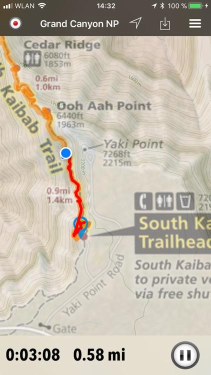 National Parks Pocket Maps screenshot-4