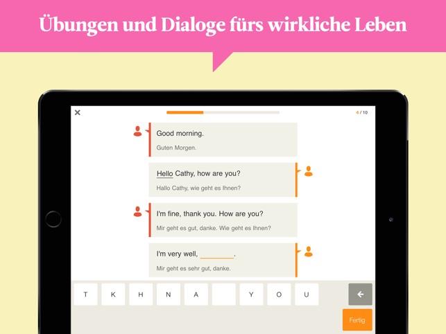 Babbel Sprachen Lernen Im App Store