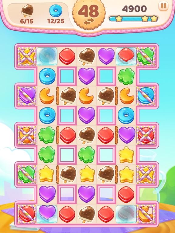 Cookie Rush - Match Adventure screenshot 7