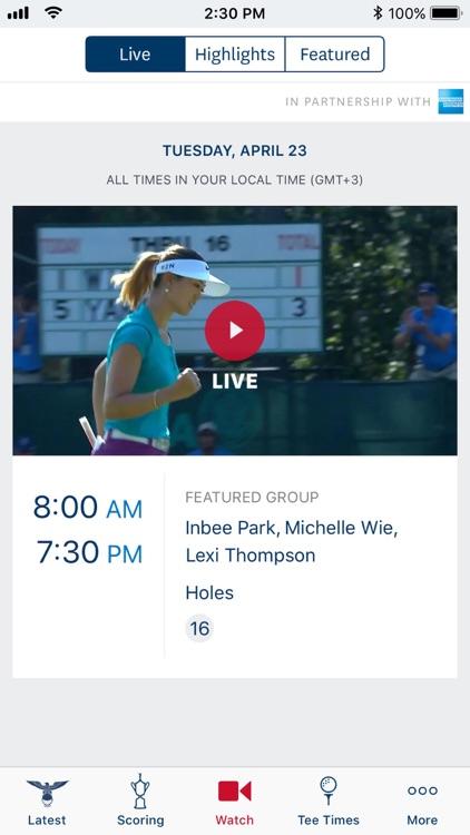 U.S. Women's Open screenshot-3