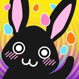 Moji Easter Bunny