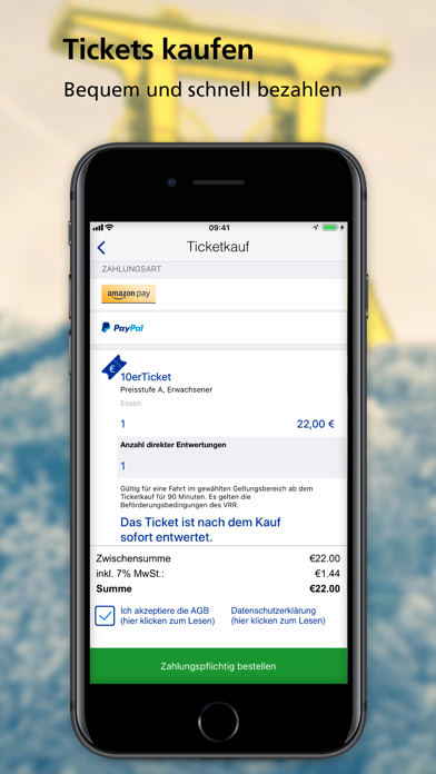 messages.download ZÄPP Die Ruhrbahn App software