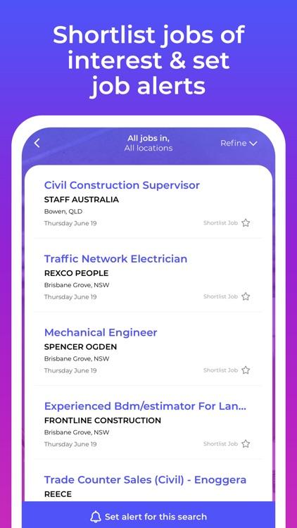 Construction Jobs screenshot-4