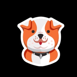 Dog Thinking Sticker