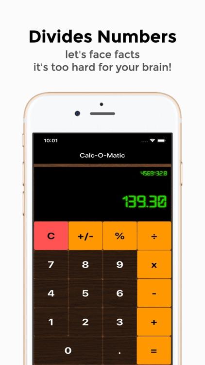 Retro Calc basic calculator screenshot-3