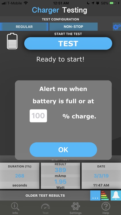 Amperes - battery charge info screenshot-3