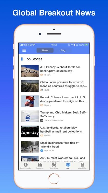 Penny Stocks Pro - screener screenshot-5