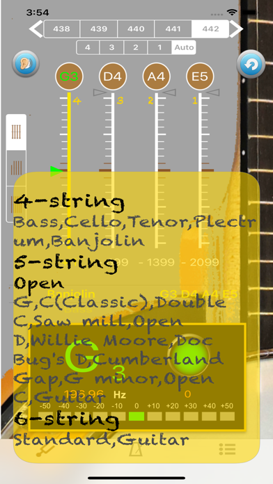 BanjoTuner - Tuner for Banjo screenshot three