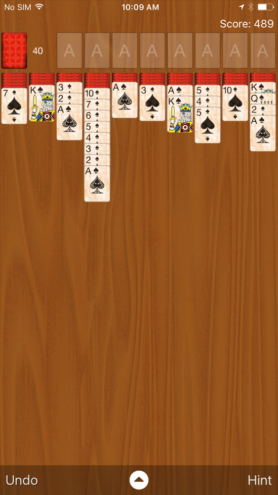 Spider Solitaire Classic App for iPhone - Free Download