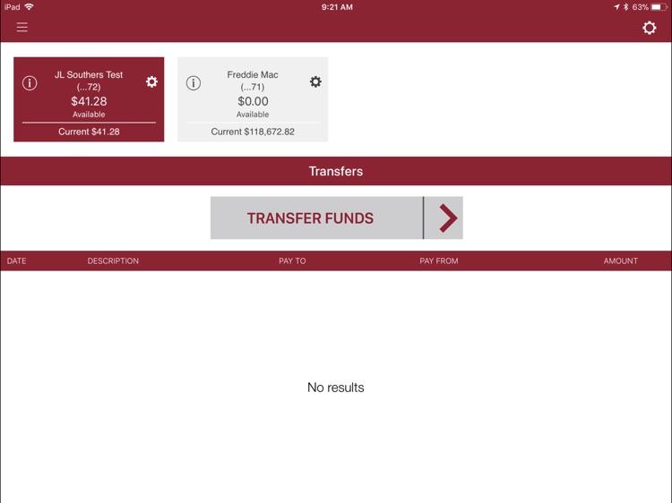 Crossroads Bank Biz for iPad screenshot-3