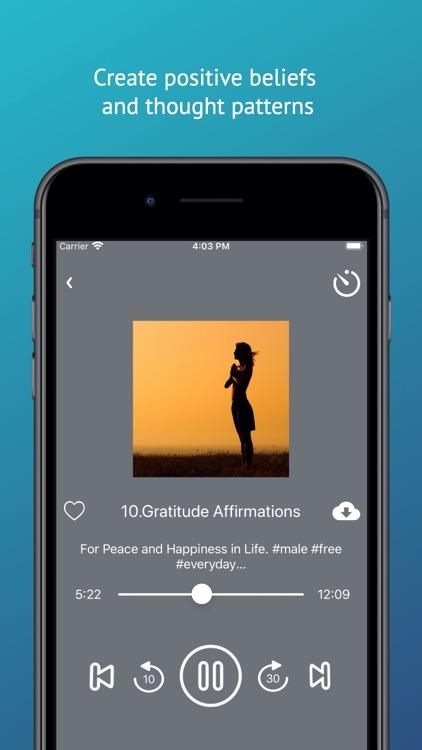 Affirmations Audio App
