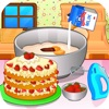 Cooking strawberry short cake