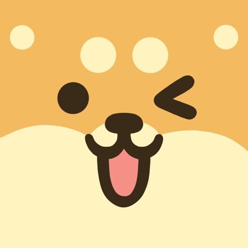 Shiba Moji - Dog Stickers app logo