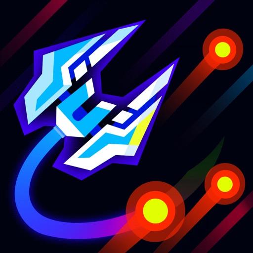 Space Dodger 2019: arcade wars iOS App