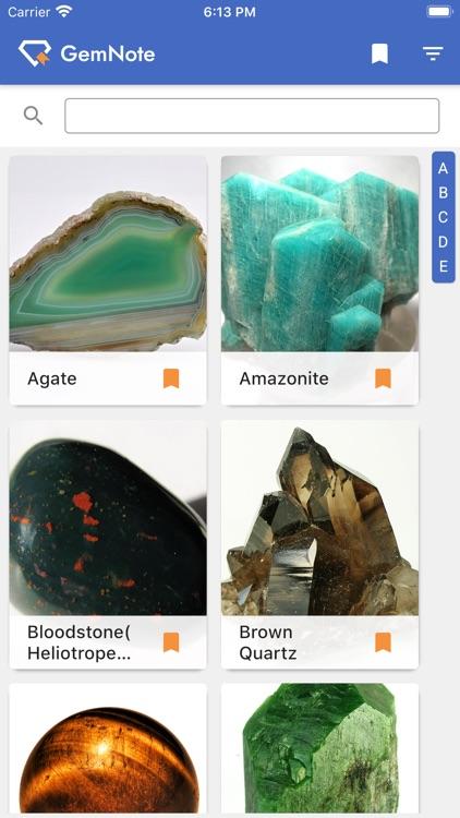 GemNote - Gemstone Guide screenshot-7