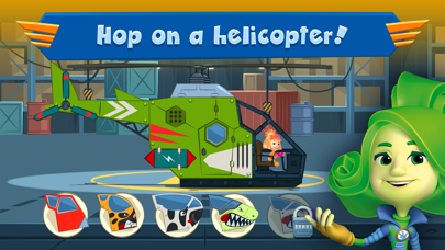 Screen Shot Fixies Helicopter Superheroes 2