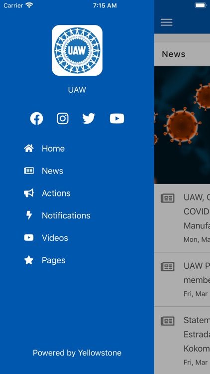 UAW App screenshot-3