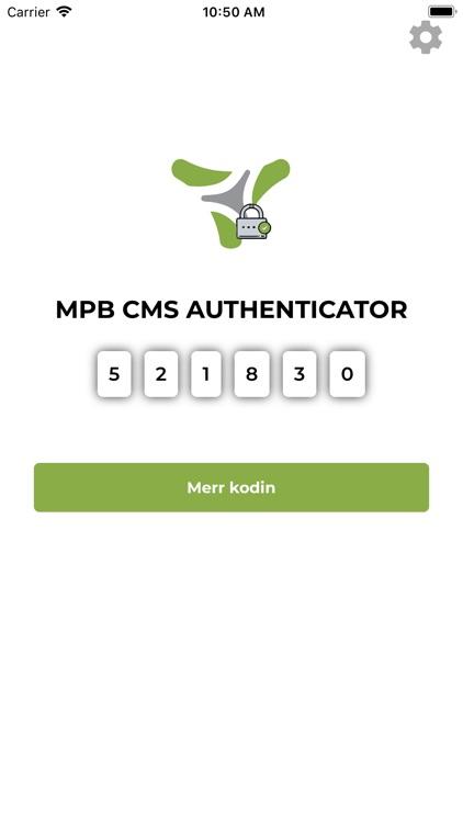 MPB CMS Authenticator screenshot-4