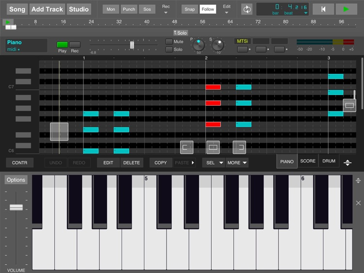 MultitrackStudio for iPad screenshot-3