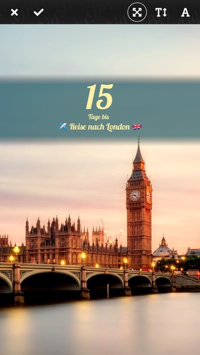 Big Days! Ereignisse CountdownScreenshot von 2