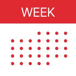 Ícone do app WeekCal