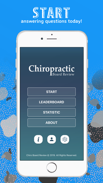 Chiro Board Review Screenshots