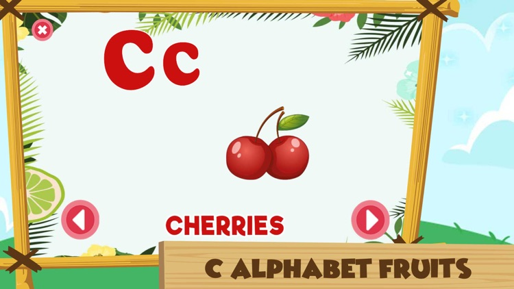 Learning Alphabet C Words Game screenshot-5