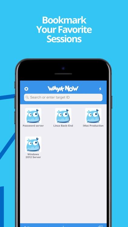 Wayk Now screenshot-3