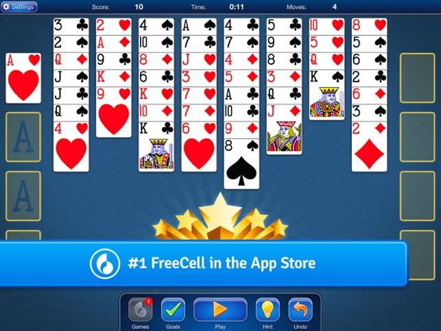 FreeCell Solitaire Card Game on the App Store