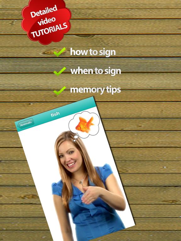 Baby Sign Dictionary ASL-ipad-1