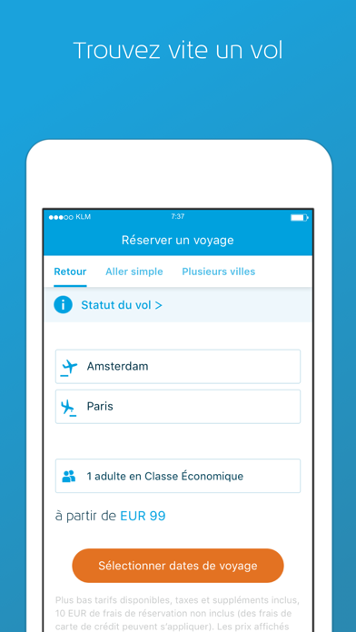 Screenshot #1 pour KLM