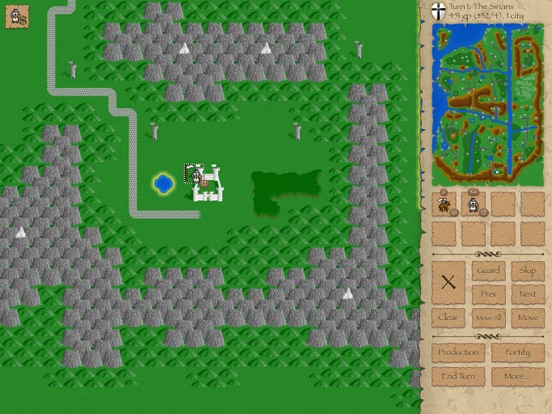 Screenshot #4 pour Warlords Classic Strategy