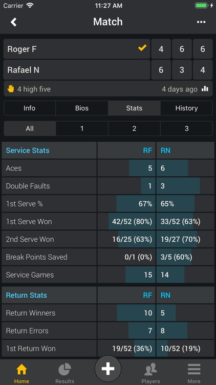 Smashpoint Tennis Tracker screenshot-5