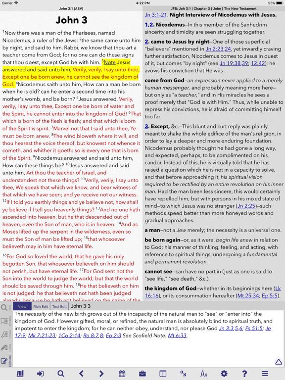 PocketBible Bible Study App screenshot