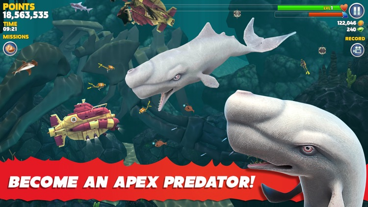 Hungry Shark Evolution screenshot-3