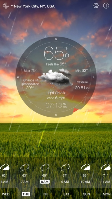 Weather Live゜ Screenshot