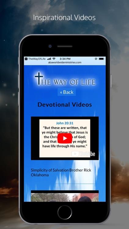 The Way Of Life Ministries APP screenshot-3