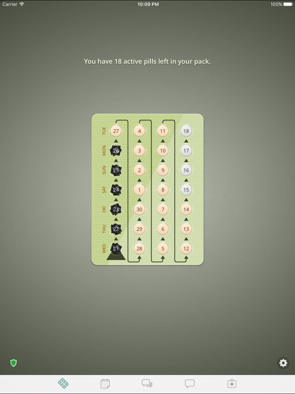 myPill® Birth Control Reminder: Pill, Ring & Patch screenshot